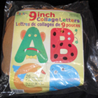 NEW Roylco 9&quot; Collage Alphabet Letters with Idea Guide