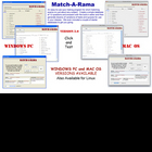 NEW Win PC Match-A-Rama Test Maker