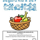 "NSW-DET COGs Unit- ES1 (D) ""Healthy Choices"" Activity Book"