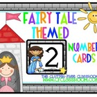 NUMBER CARDS / CALENDAR for a FAIRY TALE CLASSROOM THEME