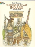 NW Coast Indians Coloring Book