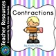 NWEA MAP Test K-1 Contraction Practice Power Point