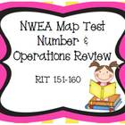 NWEA Map Test Number &amp; Operations Review RIT 151-160