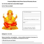 Namaste & Amen: Worksheet Comparing Buddhism and Monotheis