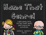 Name That Genre! (Spinner Activity)