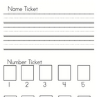 Name Ticket &amp; Printing Practice