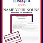 Name Your Nouns Writing Workshop Mini Lesson