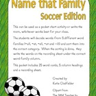Name that Family-Soccer Edition