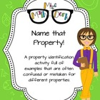 Name that property: an open ended identification activity