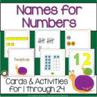 Names for Numbers: 1-24 on the Common Core Snail Trail