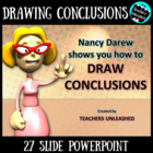 Nancy Darew shows you how to Draw Conclusions