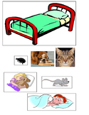 Napping House Sequencing pictures ESL kindergarten Audrey Wood