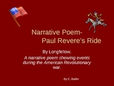 Narrative Poem-Paul Revere's Ride-powerpoint