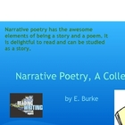 Narrative Poetry, A Collection