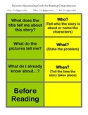Narrative Questioning Cards for Reading Comprehension