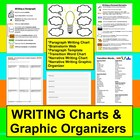 Narrative Writing Graphic Organizers &amp; Charts (Paragraph W