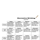 Narrative Writing Lesson Plan