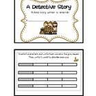 Narrative Writing Mini Book - Detective Story
