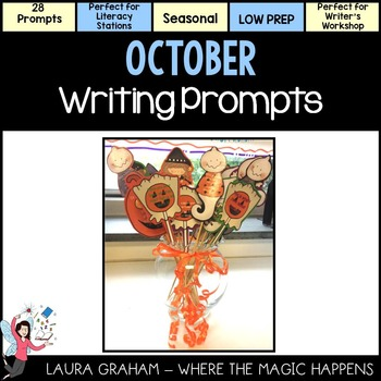 Narrative Writing October Prompts