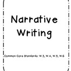 Narrative Writing Packet