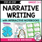Narrative Writing -Step by Step Slides and Printables for