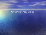 Narrator and Voice Power Point