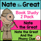 Nate the Great Book Club 2 Pack