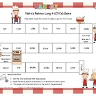 Nate's Bakery Long A (CVCe) Literacy Station Word Game RF.