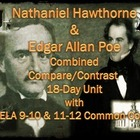 Nathaniel Hawthorne &amp; Edgar Allan Poe Combined 18-Day Unit