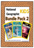 National Geographic Kids Bundle Pack 2 {Dolphins, Wolves, Storms}