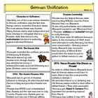 Nationalism:  German Unification