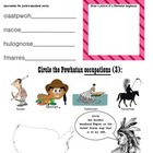 Native American Activity Pages for 2nd Grade