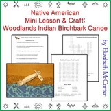 Native American Mini Lesson & Craft: Woodlands Indian Birc
