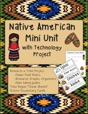 Native American Power Point Project with Vocabulary Cards