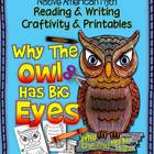 Native American Myth: Why The Owl Has Big Eyes, Craftivity