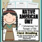 Native American Passages {Aligned to Common Core for Close