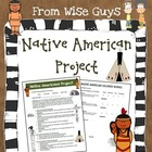 Native American Project with Directions, Rubric, Grid and Links