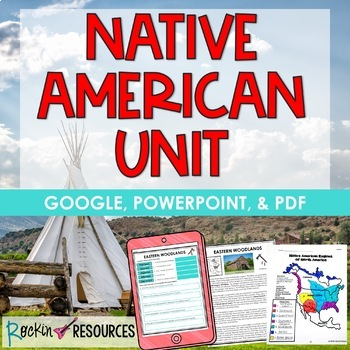 Native American Unit with lesson plans and printables