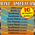 Native Americans (ALL 10 PARTS) visual, textual, engaging
