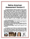 Native Americans Assessment Version 2
