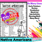 Native Americans Word Search