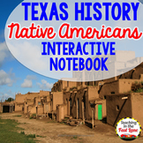 Native Americans of Texas Fold-Up