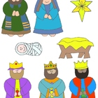 Nativity Clip Art: 48 PNGs to Celebrate the Season