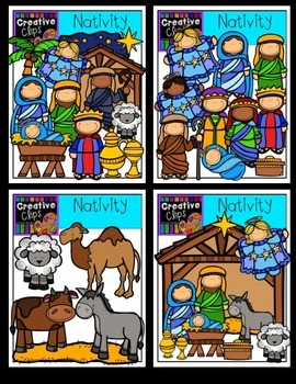 Nativity {Creative Clips Digital Clipart}