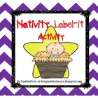 Nativity Label It Activity