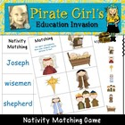 Nativity Theme Matching Game