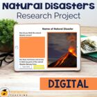 Natural Disasters: Report Writing - 26 pages