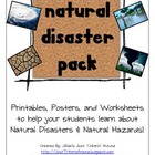 Natural Disasters and Natural Hazards Pack!