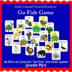 Natural Resources &quot;Go Fish&quot; Game (Included in Nat Resource