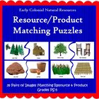 Natural Resources Matching Puzzles (Included in Nat Resour